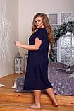 Ночная рубашка женская Вискоза Отделка кружево Размер 52 54 56 58 60 62 64 66 В наличии 3 цвета, фото 5