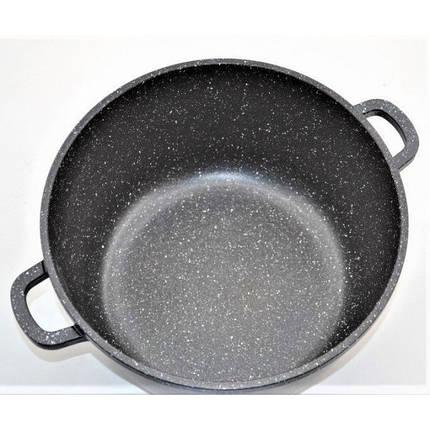 Кастрюля с мраморным антипригарным покрытием Benson 22 см, фото 2