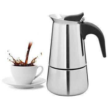 Гейзерная кофеварка Benson нержавеющая сталь на 9 чашек, фото 2