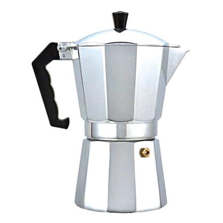 Гейзерная кофеварка Benson на 3 чашки литой алюминий