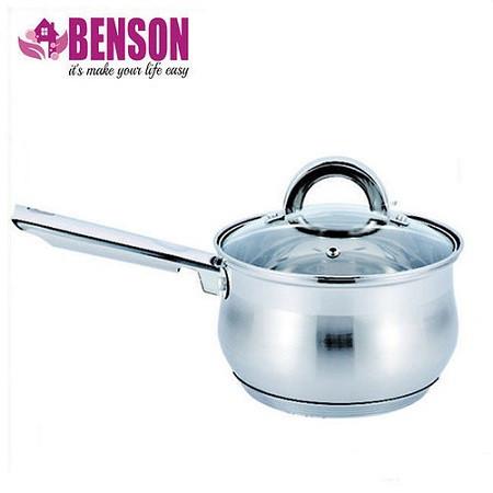 Ковш с крышкой 1 литр (5 слойное дно) Benson