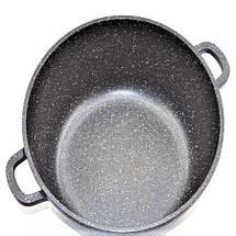 Кастрюля (казан) с мраморным покрытием 4,2 литра Benson, фото 2