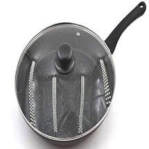 Сковорода с крышкой 26см Benson, фото 2