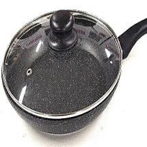 Сковорода с крышкой 26см Benson, фото 3