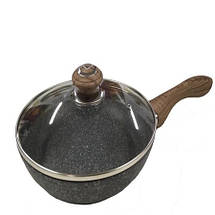 Сковорода с крышкой 28 см Benson, фото 2