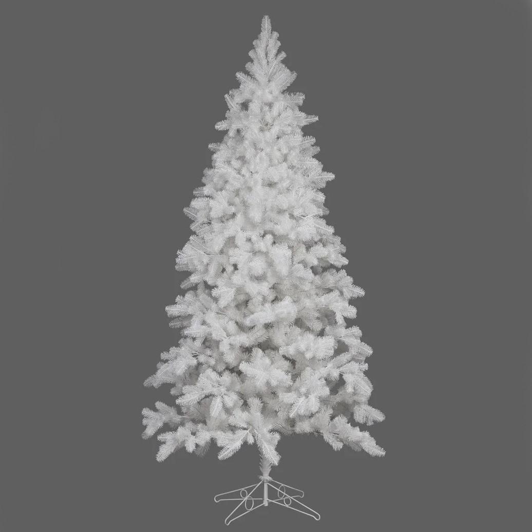 Ёлка искусственная литая LUX 220 см белая