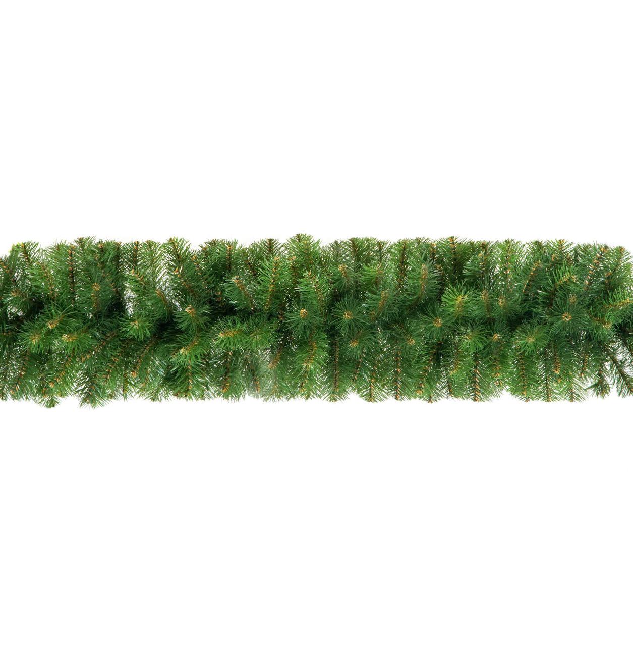 Декор хвойная гирлянда Econom зелёная, Ø 20 см