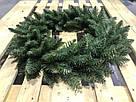 Венок новогодний рождественский Elegant из искусственной хвои (зелёный, Ø 60 см), фото 2
