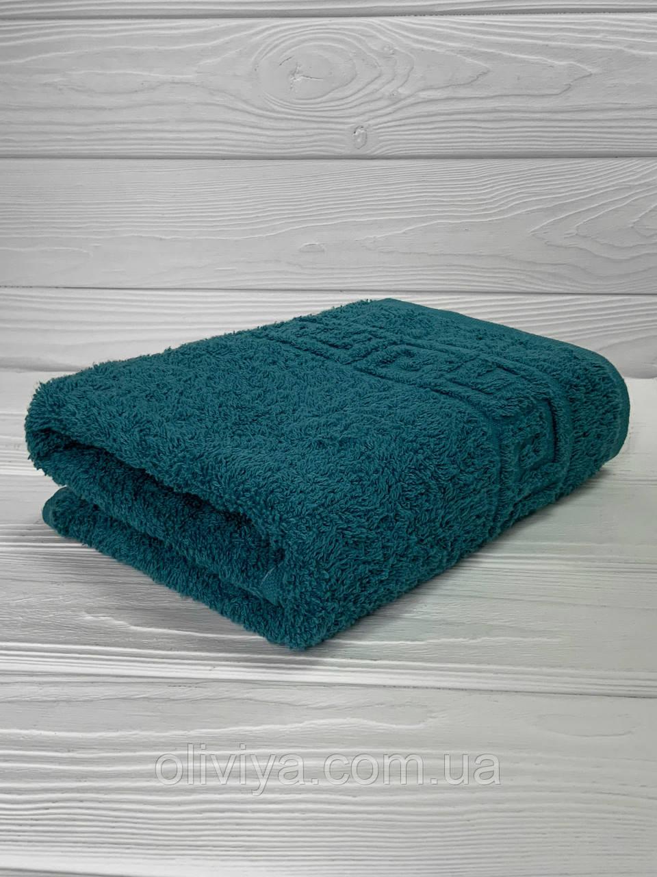 Мини-полотенце для рук махровое морская волна