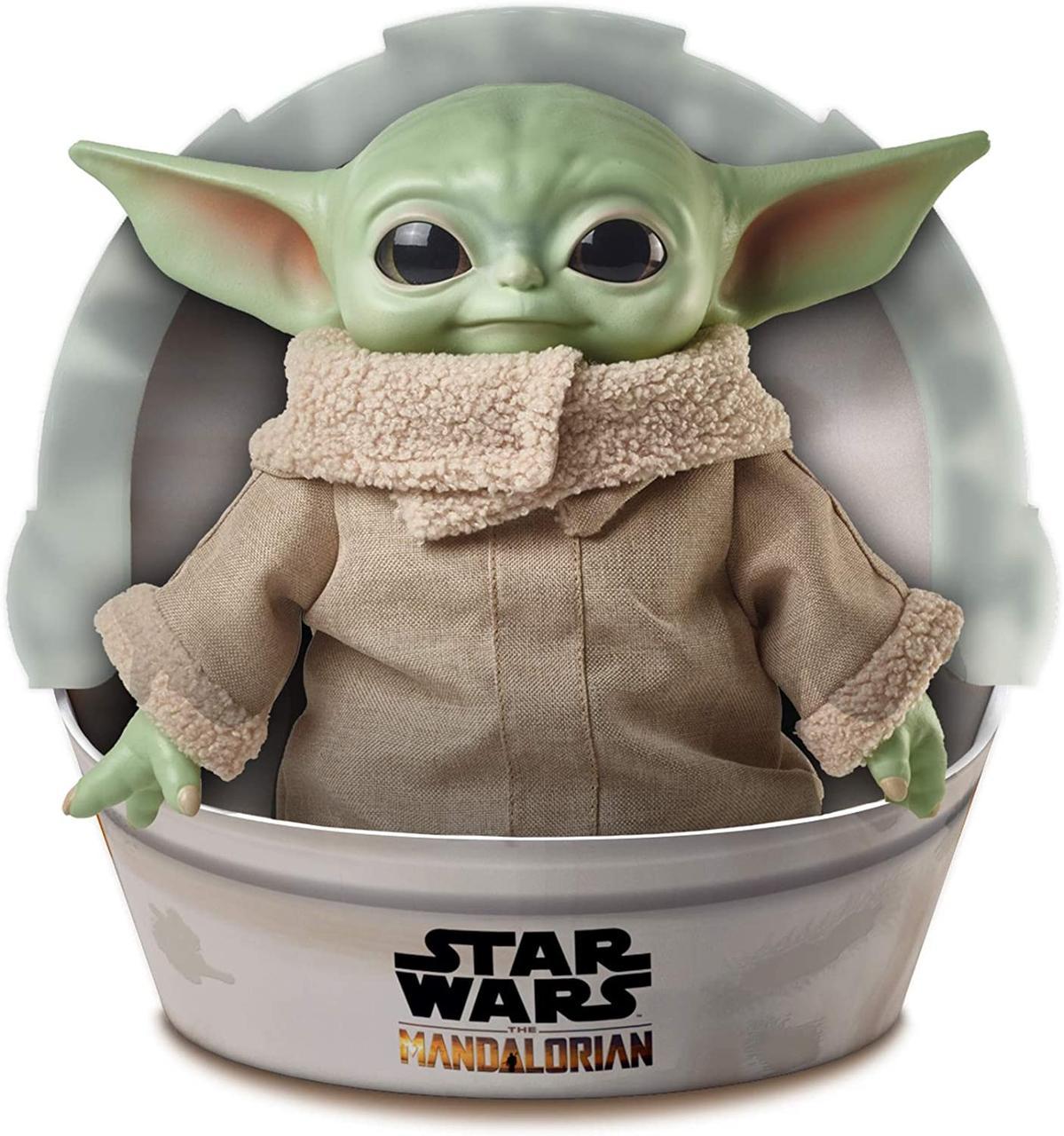 Фигурка Малыш Йода  Mattel Star Wars The Child Plush Toy  Small Yoda Звездные Войны Мандалорец