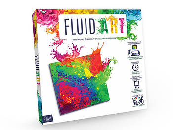 Набор для креативного творчества - рисования Fluid Art