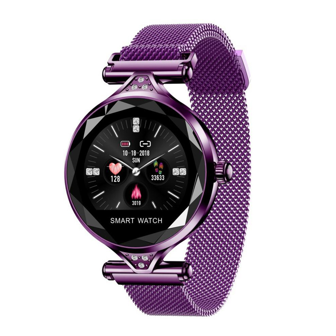 Жіночі Смарт-годинник Smart Bracelet H1 IP67 з тонометром Фіолетовий Пурпурний