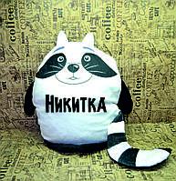 Подушка-игрушка в виде животных. Подарок на любой повод. С вашим фото или картинкой