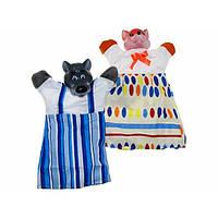 """Набор кукол-перчаток """"Лиса и Волк"""" В078 / В076 / В155 / 3"""