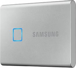 Жесткий диск Samsung Portable SSD T7 TOUCH 2TB USB 3.2 Type-C (MU-PC2T0S/WW) External Silver