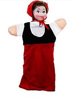 Кукла-рукавица Красная Шапочка В074/В158/10