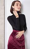 Стеганая женская юбка теплая бордо ( размер 40- 54 XS-XXL), фото 3