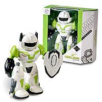 Видеообзор! Интерактивный робот для ребенка на батарейках. Игрушка для мальчиков.