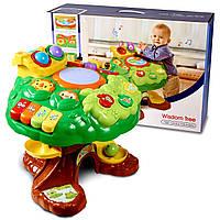 Интерактивный развивающий музыкальный столик для ребенка Egaleco.