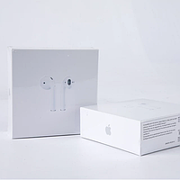 Беспроводные Bluetooth наушники точная копия второго поколения. Чип Airoha