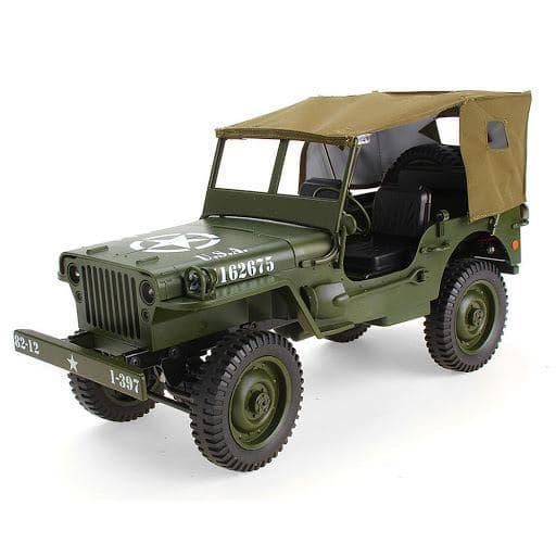 Машинка на радиоуправлении JJRC Q65 Jeep Willys Военный грузовик