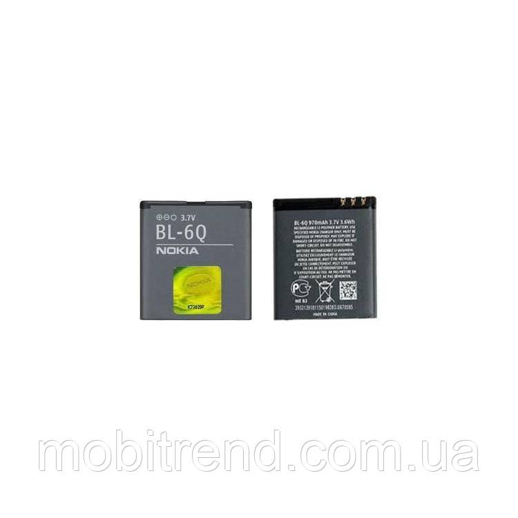 Аккумулятор Nokia BL-6Q