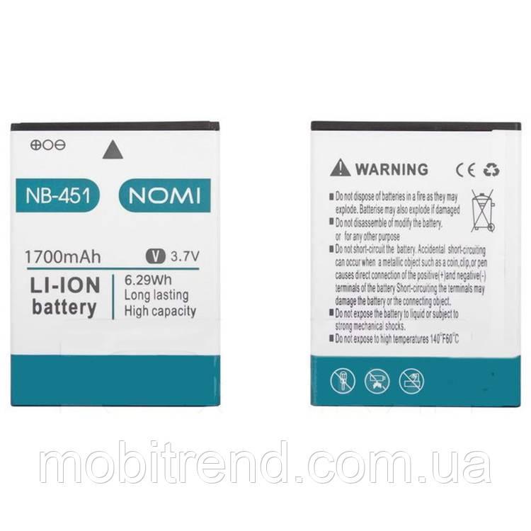 Аккумулятор Nomi NB-451, i451