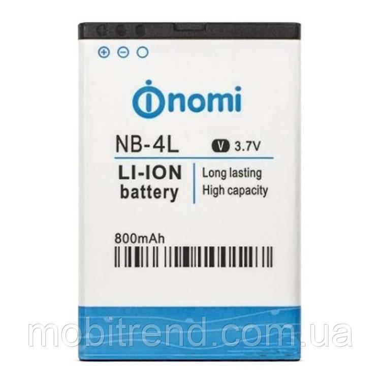 Аккумулятор Nomi NB-4L, i240