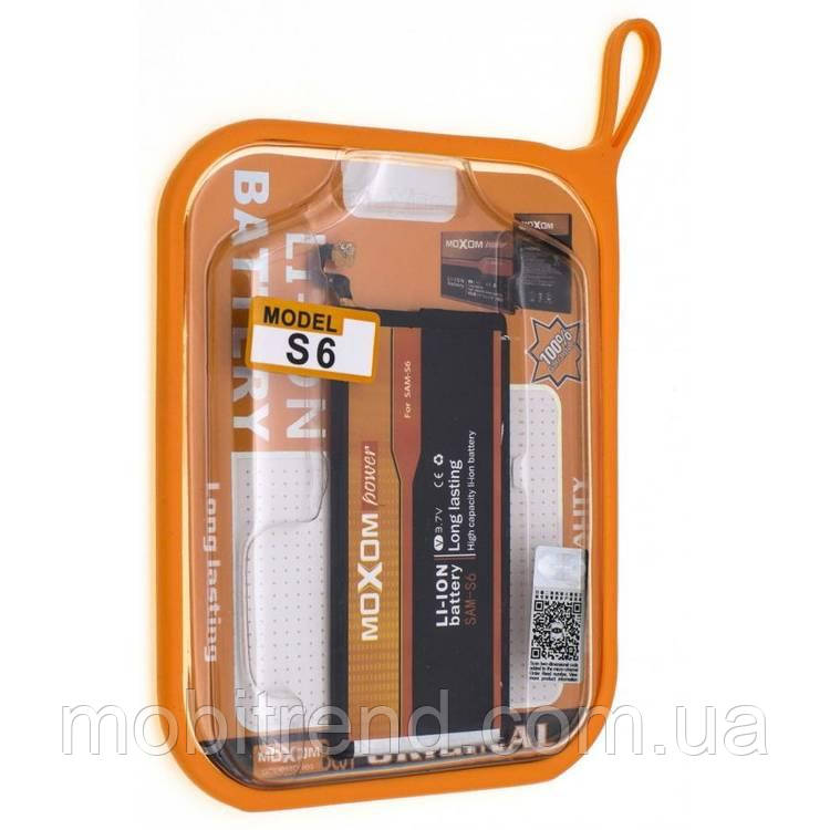 Аккумулятор Samsung G920F S6 (EB-BG920ABE) Moxom