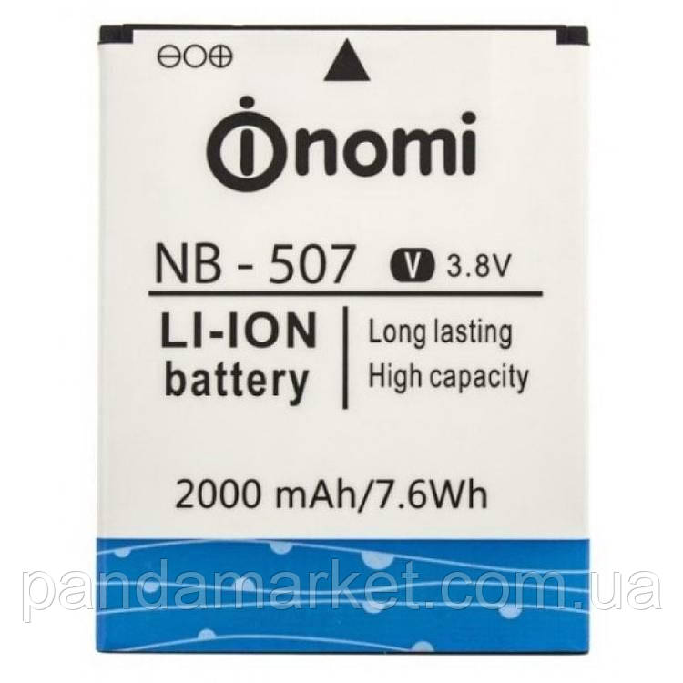 Аккумулятор Nomi NB-507, I507