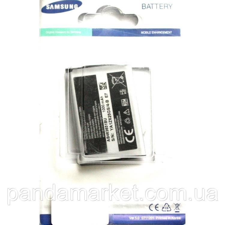 Аккумулятор Samsung S3650, C3322 (AB463651BU)