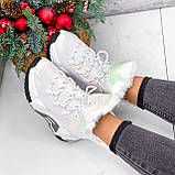 Ботинки женские Tizzar мульти ЗИМА 2648, фото 7