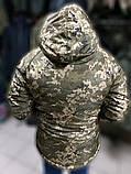 Зимние водозащитные куртки военные пиксель ВСУ TASLAN, фото 3