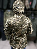 Зимние водозащитные куртки военные пиксель ВСУ TASLAN, фото 4