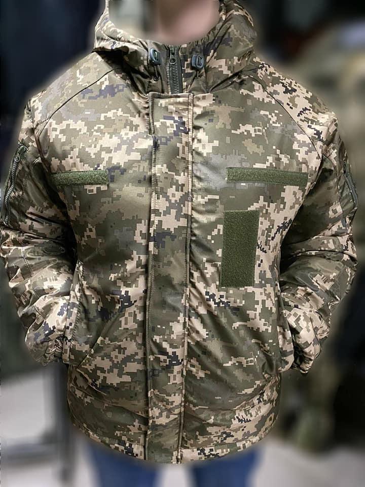 Зимние водозащитные куртки военные пиксель ВСУ TASLAN