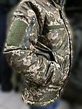 Зимние водозащитные куртки военные пиксель ВСУ TASLAN, фото 5