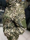 Зимние водозащитные куртки военные пиксель ВСУ TASLAN, фото 6
