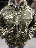 Зимние водозащитные куртки военные пиксель ВСУ TASLAN, фото 2