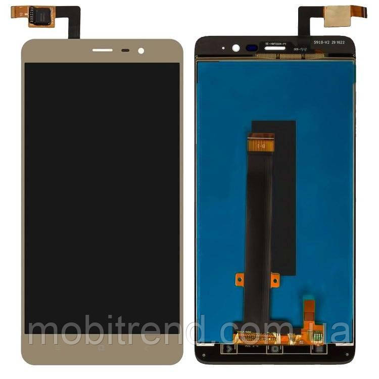 Дисплей модуль Xiaomi Redmi Note 3 Pro Special Edition, Redmi Note 3i (2015161) Золотой