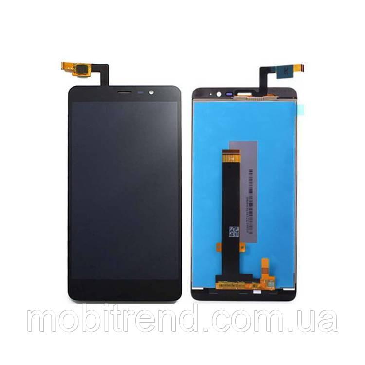 Дисплей модуль Xiaomi Redmi Note 3 Special Edition Черный (149x73mm)