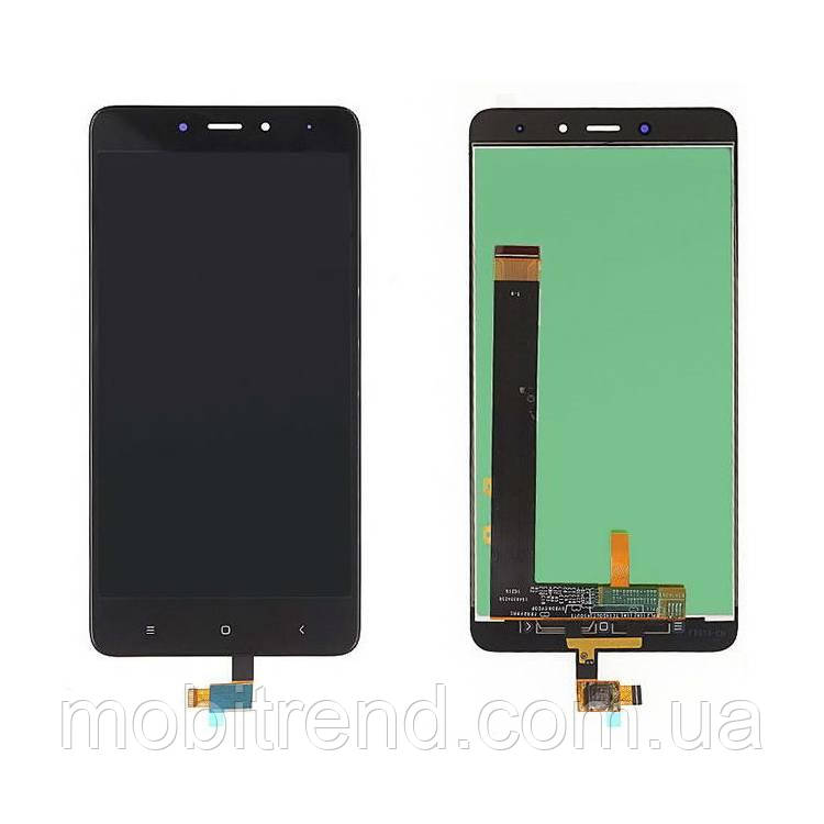 Дисплей модуль Xiaomi Redmi Note 4, Note 4 Pro Черный