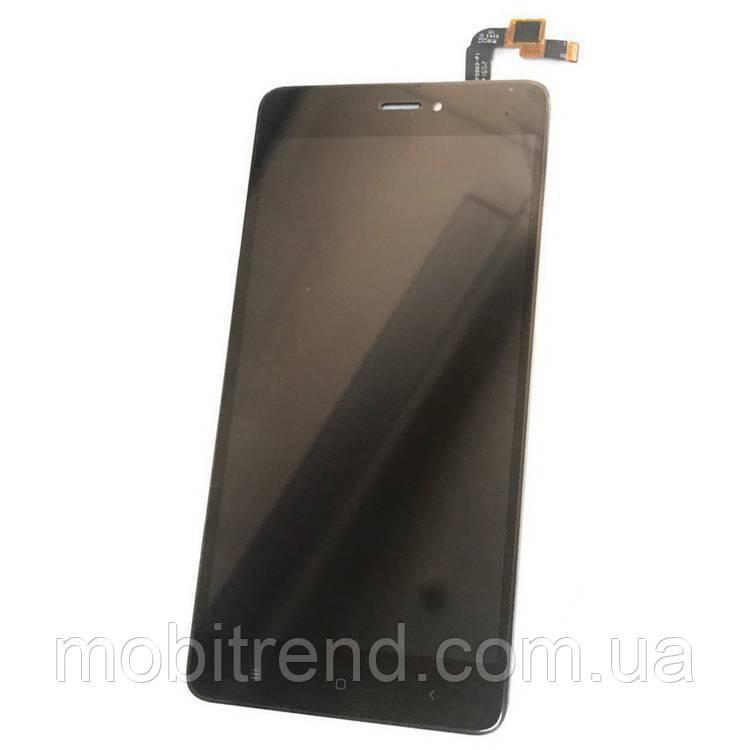 Дисплей модуль Xiaomi Redmi Note 4X Черный