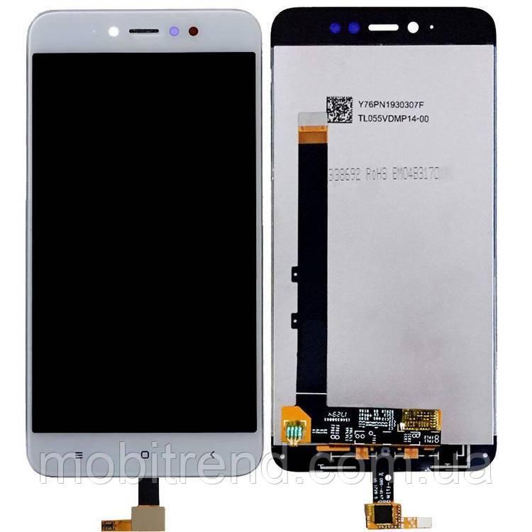 Дисплей модуль Xiaomi Redmi Note 5A Prime, Y1 (MDI6S) Белый