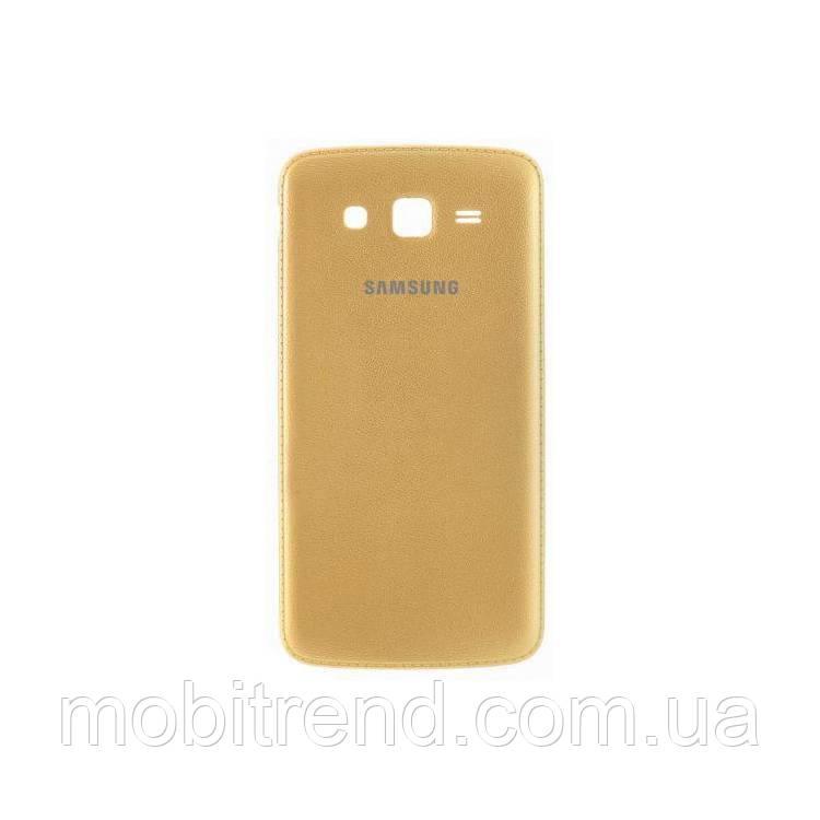 Задняя часть корпуса Samsung G7102 Grand 2 Duos Золотой