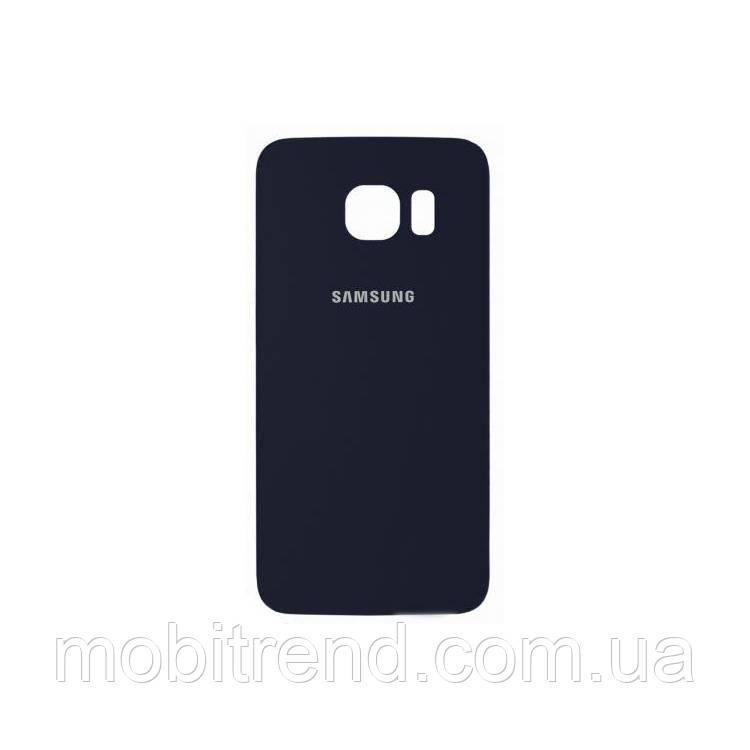 Задняя часть корпуса Samsung G920F S6 Синий Оригинал