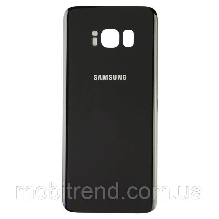 Задняя часть корпуса Samsung G955F S8 Plus (2017) midnight Черный