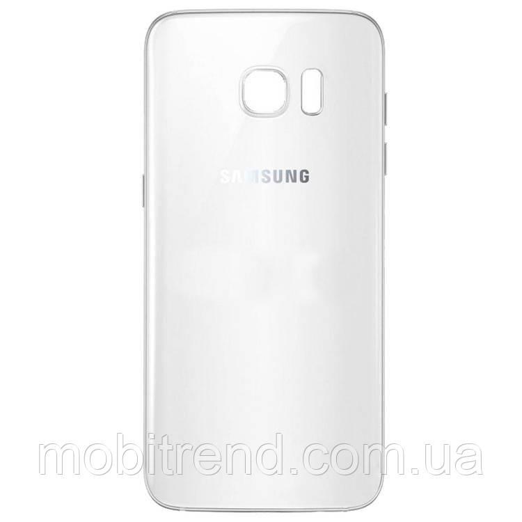 Задняя часть корпуса Samsung S7, G930 Белый