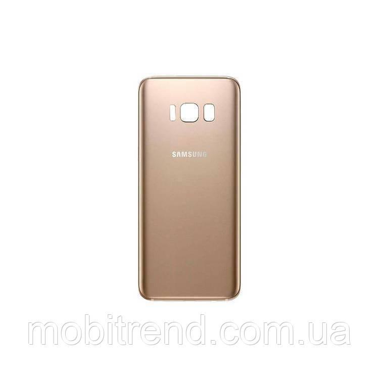 Задняя часть корпуса Samsung S8, G950 Золотой