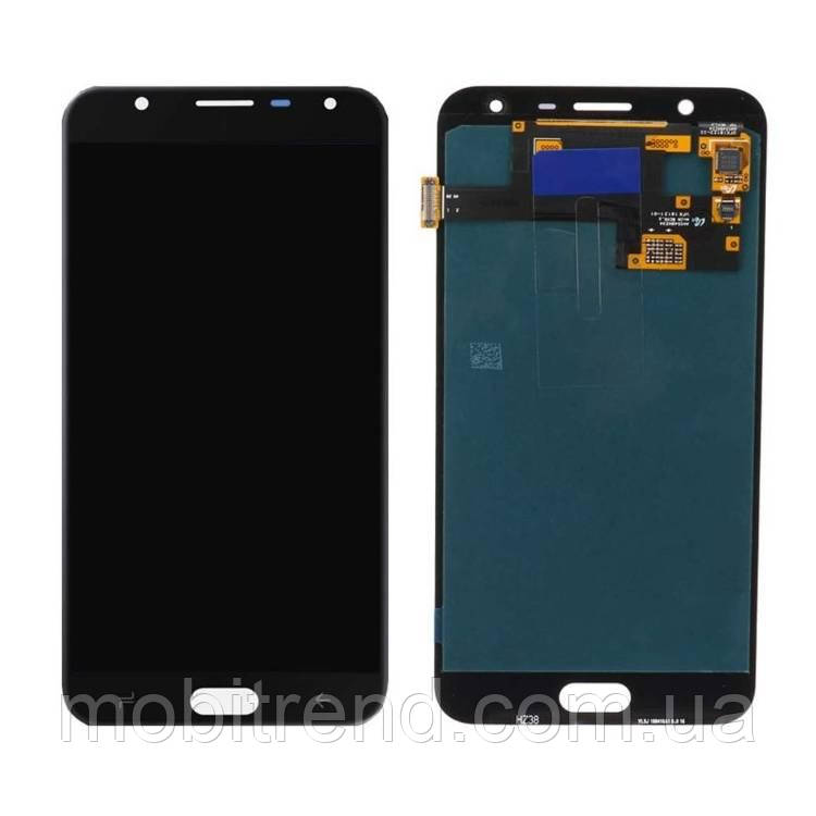 Дисплей модуль Samsung J720H J7 Duo (2018) Черный OLED