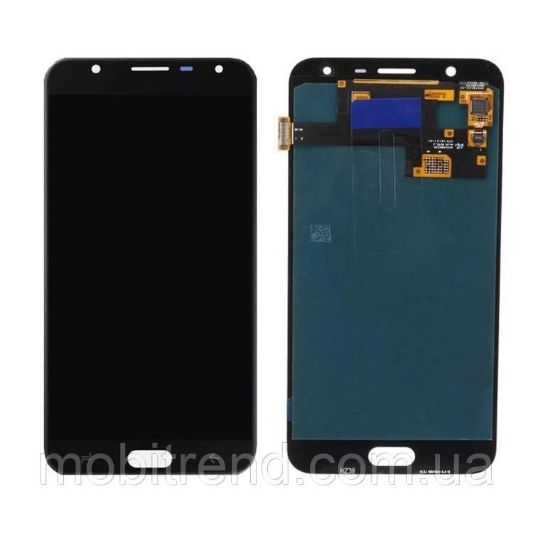 Дисплей модуль Samsung J720H J7 Duo (2018) Черный TFT с регулируемой подсветкой